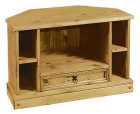 Corona TV Corner Cabinet
