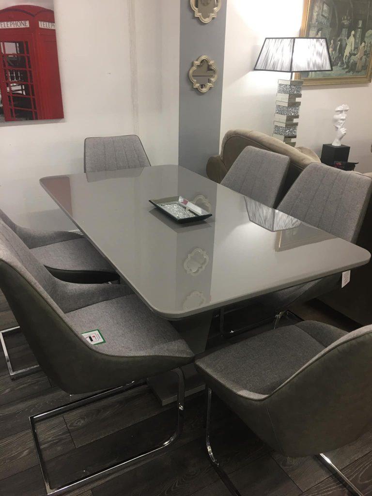 6 Seater Modern Dining Set