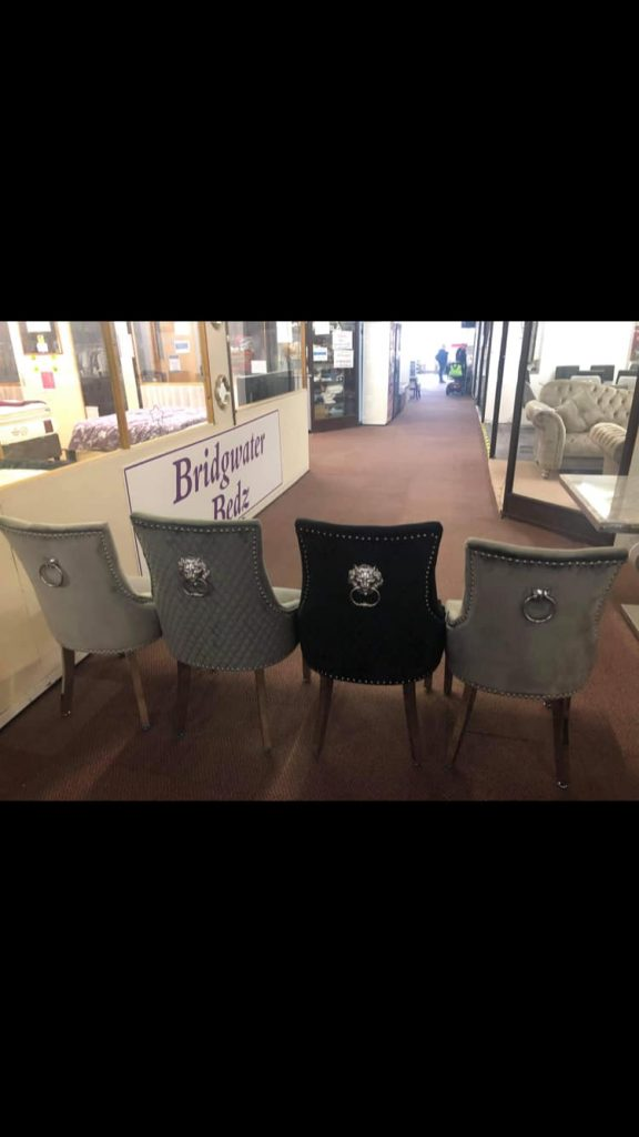 Rear view of Luxury Knockerback Dining Chairs